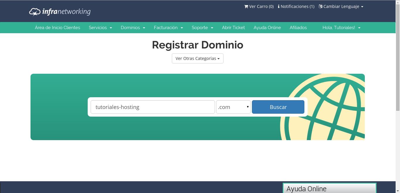 Cómo registrar nombres de dominio