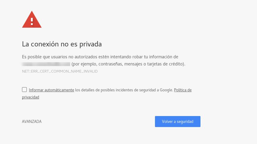 Error en un sitio WordPress que no tiene HTTPS o SSL