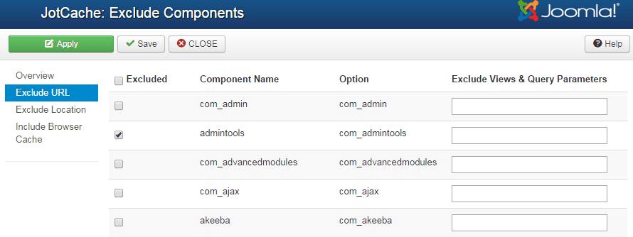 JotCache, una de las mejores extensiones de Cache para Joomla