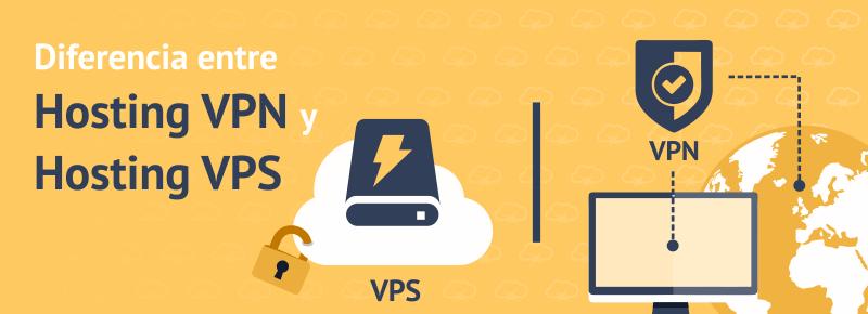 Diferencia entre Hosting VPN y Hosting VPS