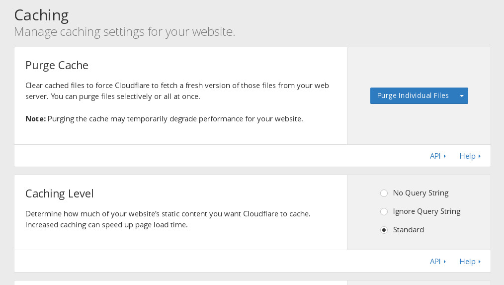 Configuracion de Cache de Cloudflare para Acelerar nuestra web