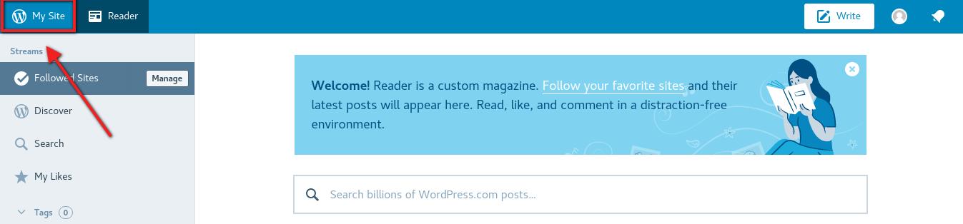 MySite en WordPress.com