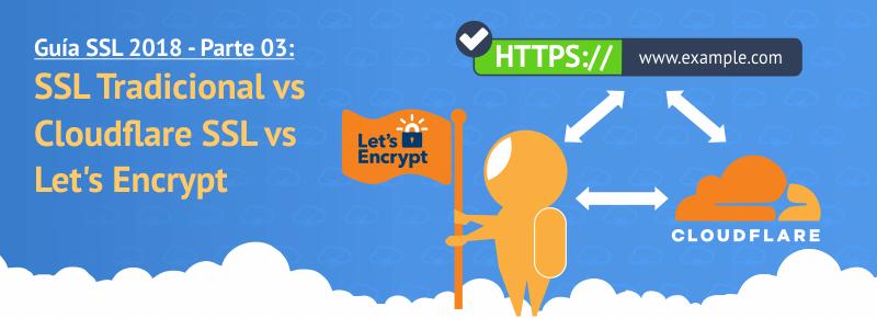 SSL Tradicional vs Cloudflare SSL vs Let's Encrypt: ¿qué diferencias tienen?