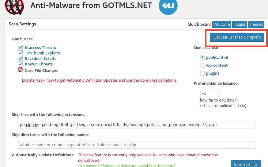 Cómo instalar y usar GOTMLS