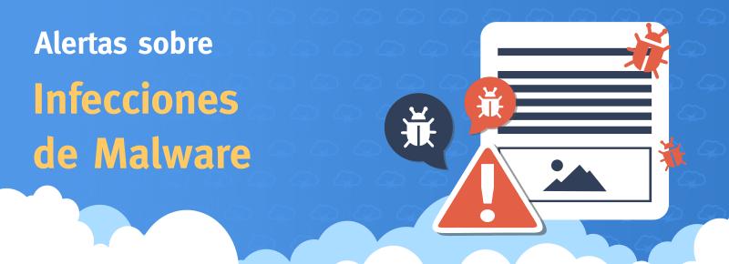 Scan y alerta de Malware automática para tus sitios web