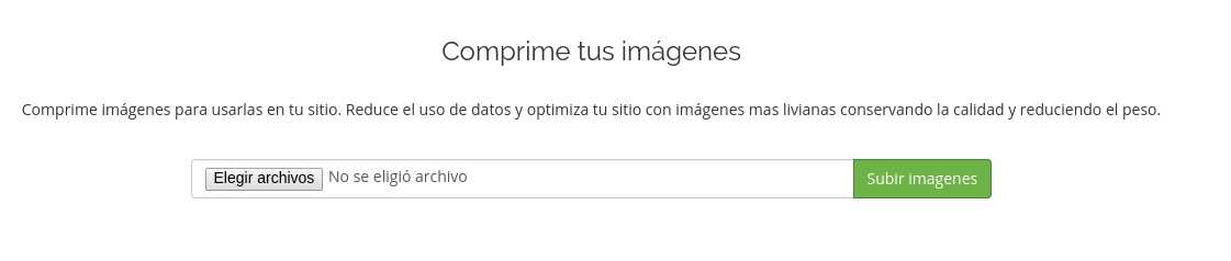 Optimizador imagenes gratuito de infranetworking