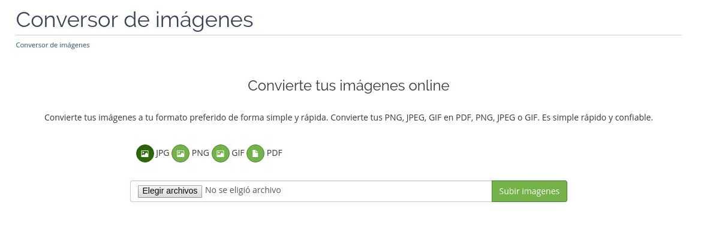 conversor de imagenes gratuito de infranetworking