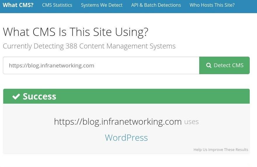 Cómo averiguar cuál CMS, theme y plugins usa una web