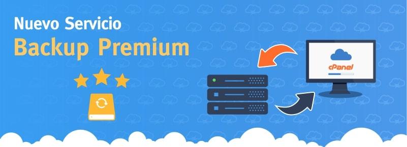 Nuevo sistema de Backups Premium