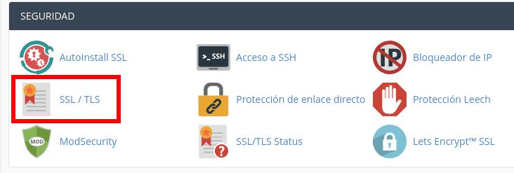 SSL TLS cPanel
