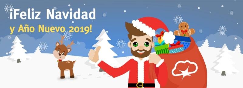 ¡Deseos de Feliz Navidad y Año Nuevo 2019! Resumen del 2018
