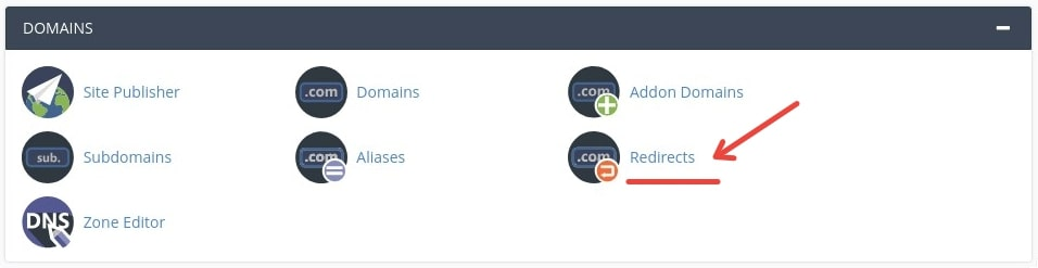 Redirects_cPanel