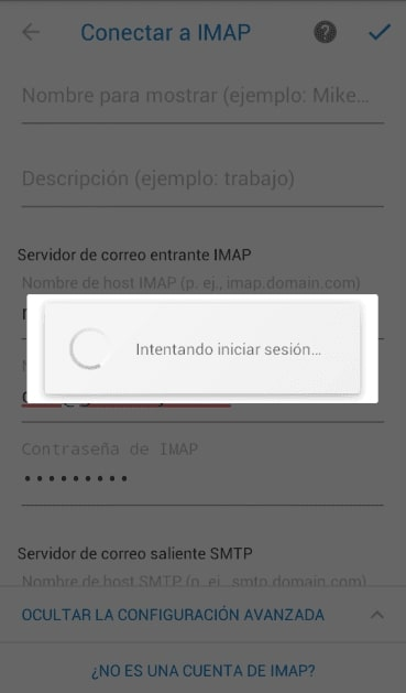 iniciar sesion android outlook