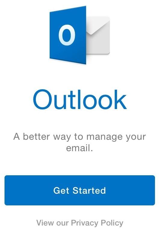 configurar outlook en iphone