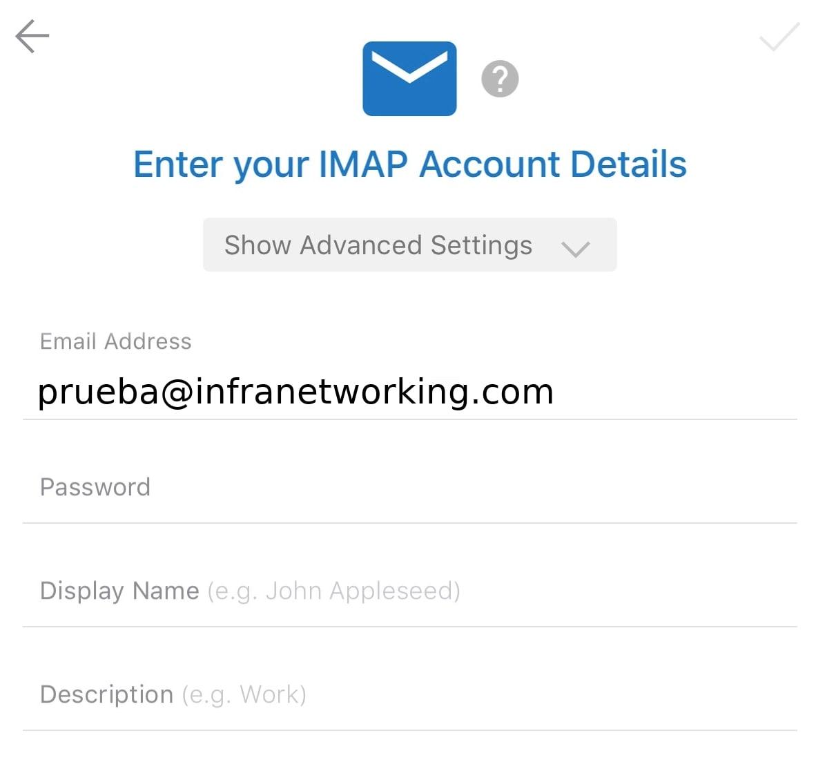 configurar servidor correo outlook iphone