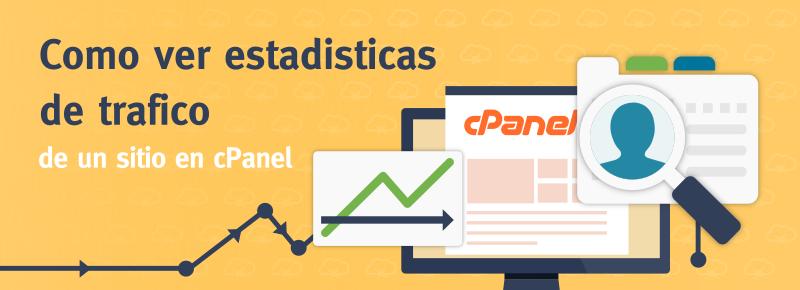 Cómo ver las estadísticas de tráfico de un sitio en cPanel