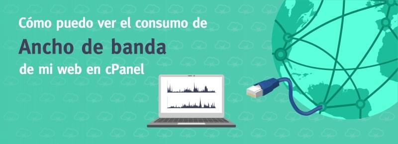 Cómo puedo ver el consumo de ancho de banda en cPanel