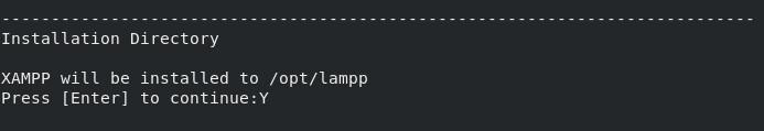 Instalación de XAMPP en Linux 03