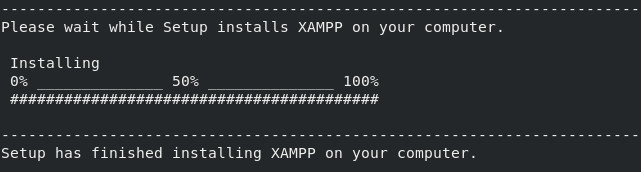 Wordpress + XAMPP instalación 05