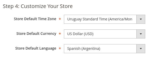 Personalizar la tienda Magento