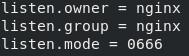Configuración de Usuario en PHP-FPM