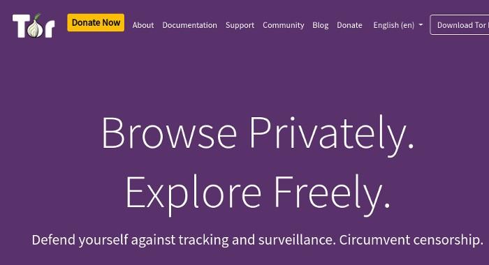 Navegador anónimo Tor