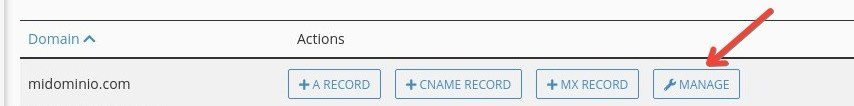 Cómo configurar DNS de Zoho en cPanel: administrar