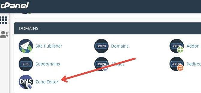 Cómo configurar DNS de Zoho en cPanel: editor DNS