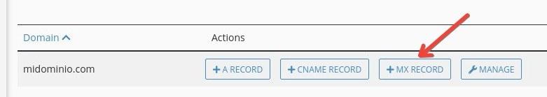 Cómo configurar DNS de Zoho en cPanel: MX