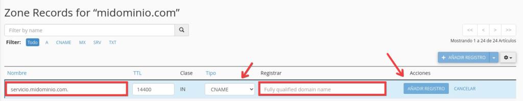 Como configurar registros CNAME para Office 365